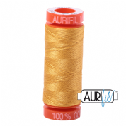 Aurifil 50 Cotton Thread - 2132 (Tarnished Gold)